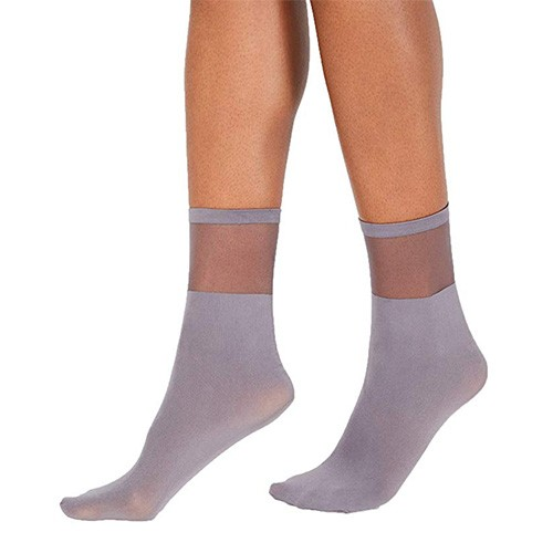 INC Sheer Ankle Socks M