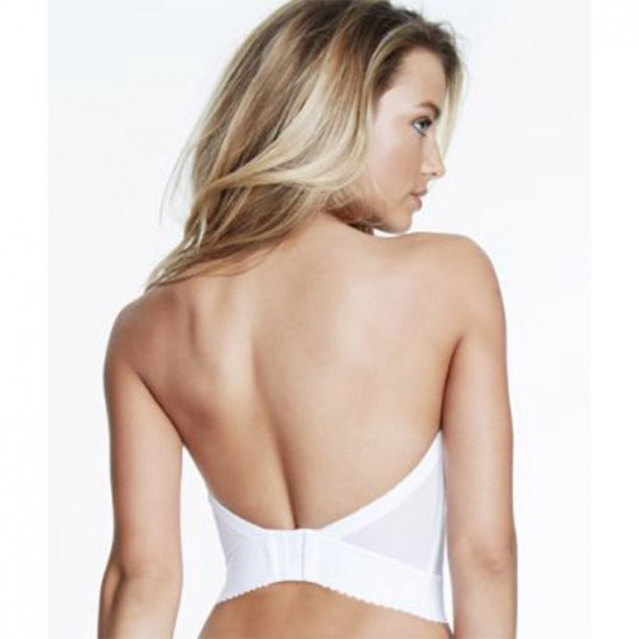 Dominique Plunging Back Strapless Bustier 34C