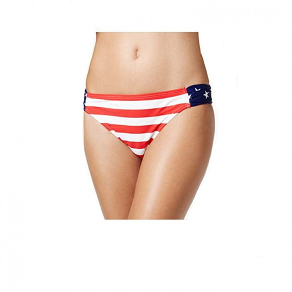 California Waves Ruched Bikini Bottom XL