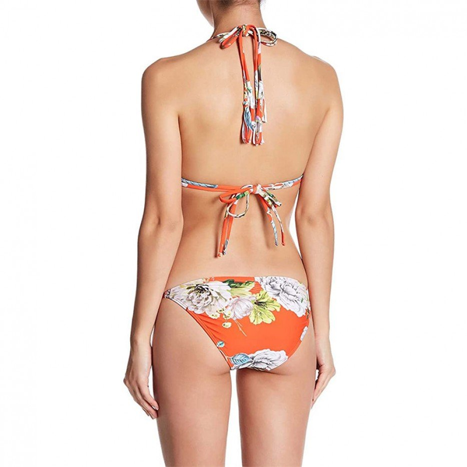 Rachel Roy Botanical Side-Tie Bikini Bottom XL