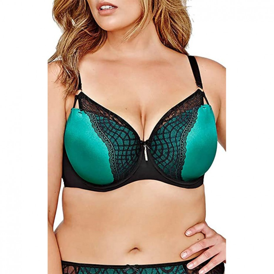 Ashley Graham Showstopper Balconette Bra 44D