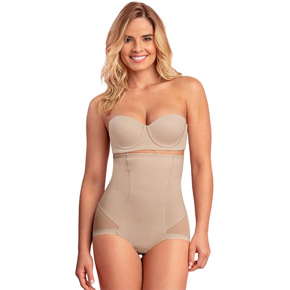 Leonisa Invisible Tummy Control Bodysuit M