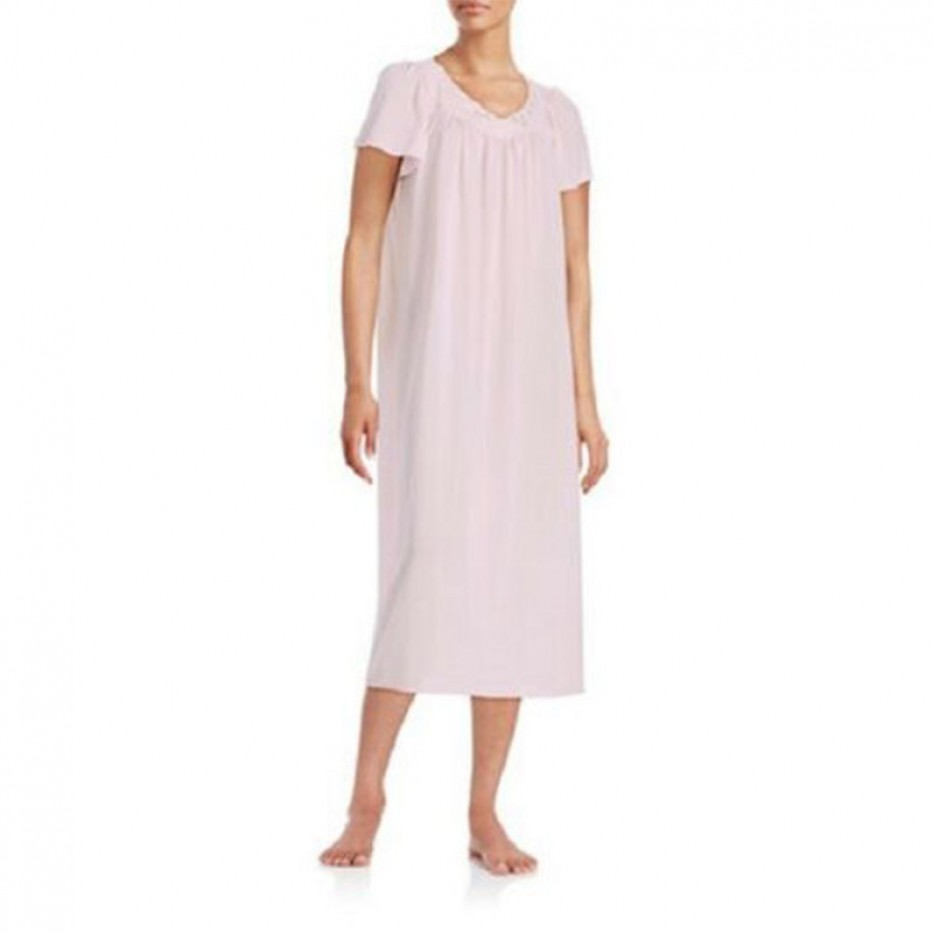 Miss Elaine Tricot Long See-Thru Gown M