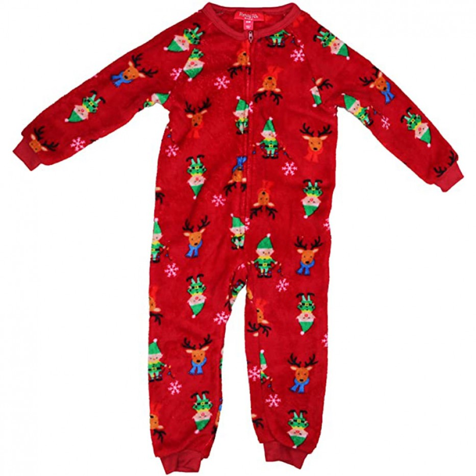 Family Pajamas One-Piece Holiday Pajama 4