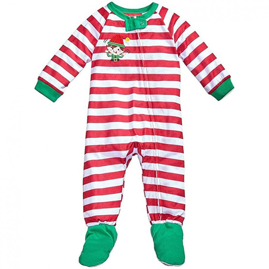 Family PJs One Piece Footed Unisex Pajamas