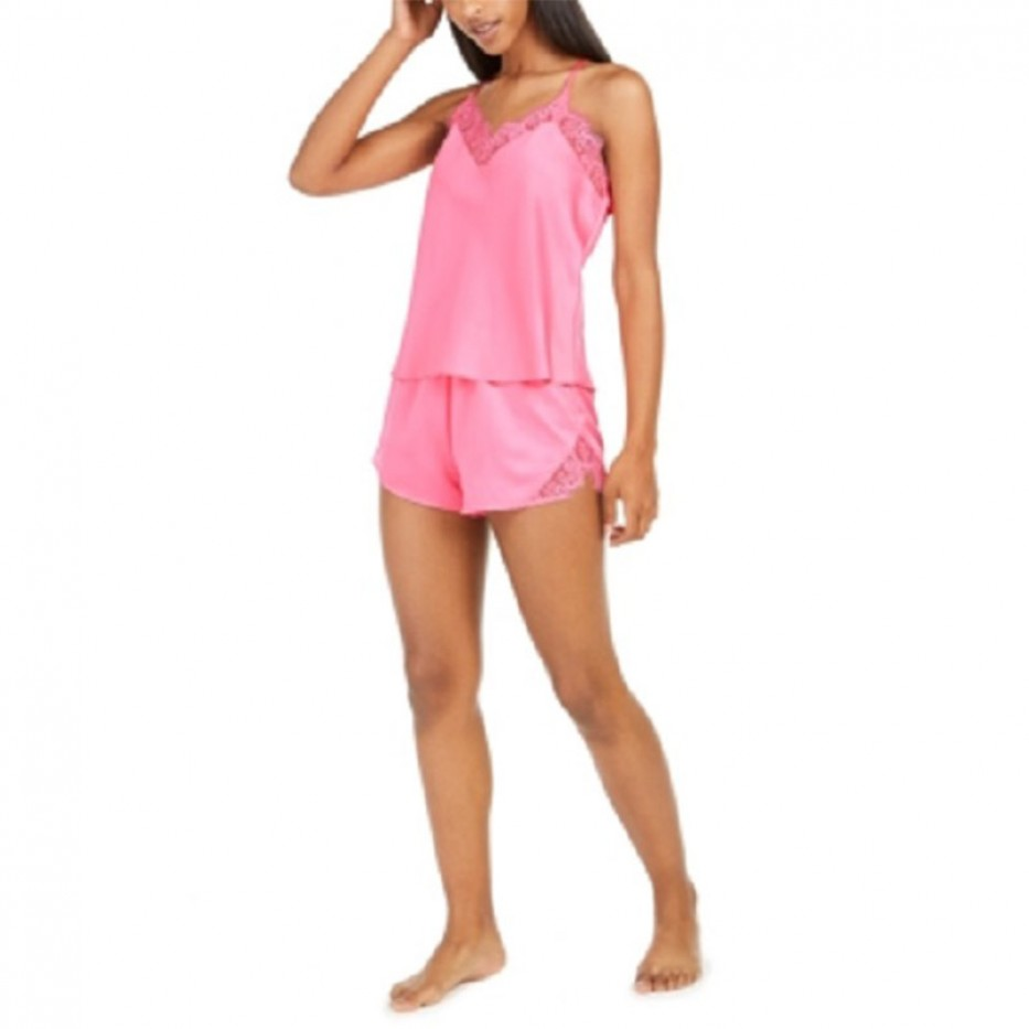 Inc Lace-Trim Tank Top Pajama Top S