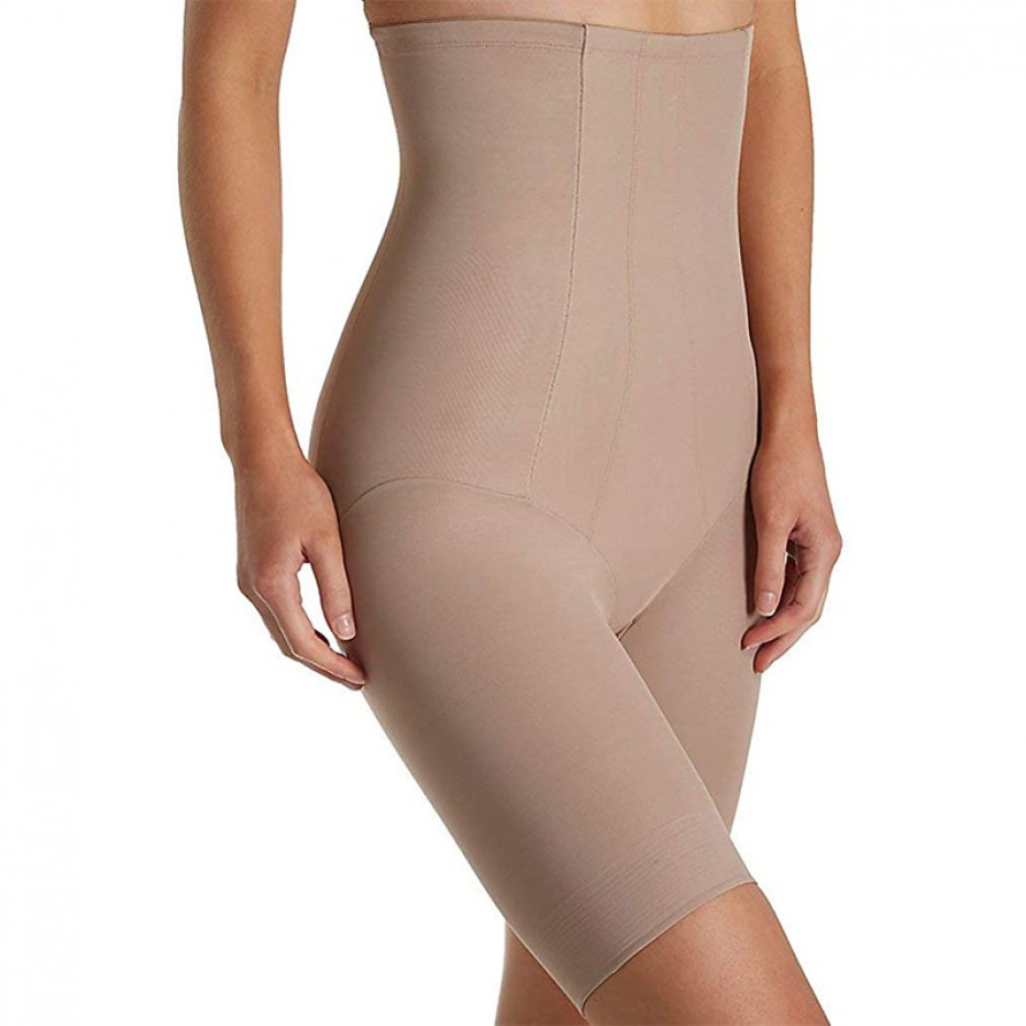 Miraclesuit Shape with an Edge Hi-Waist Long Leg M