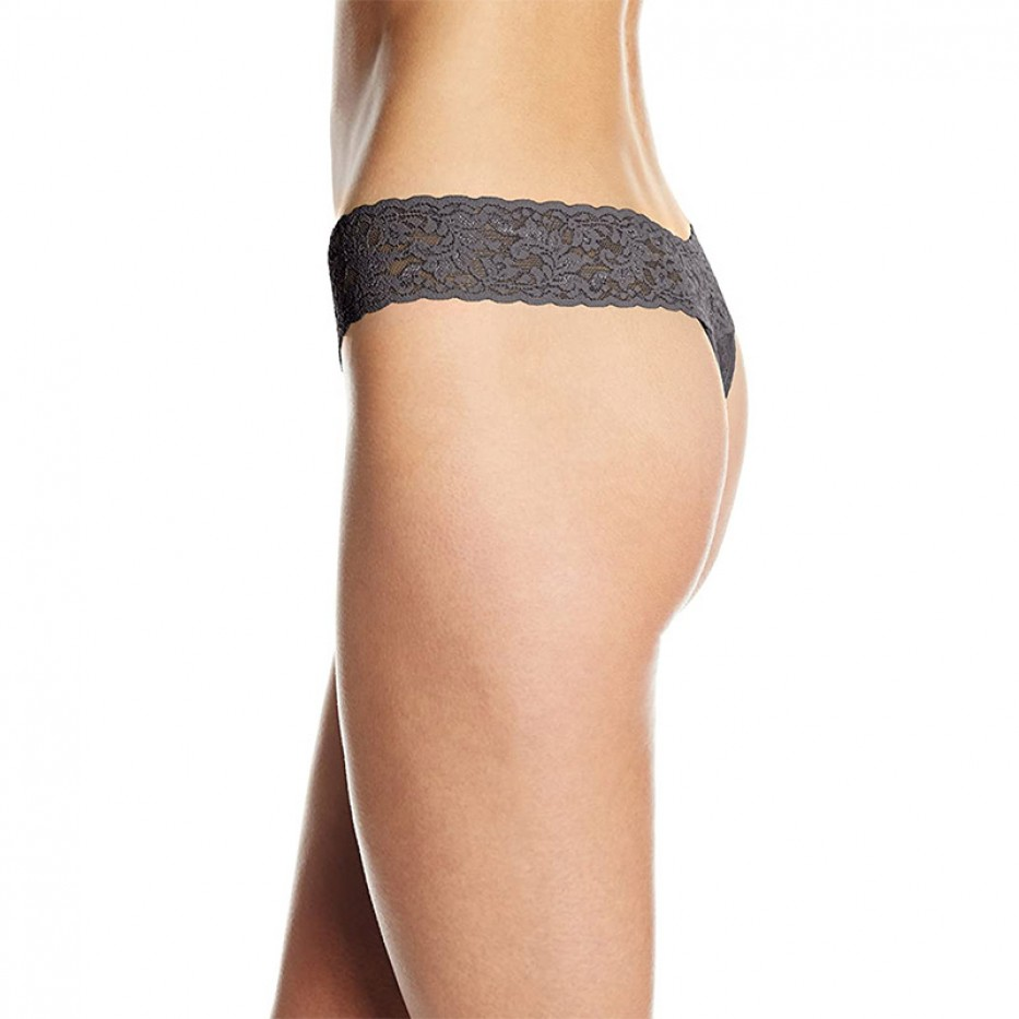 Hanky Panky Lace Low Rise Thong One Size