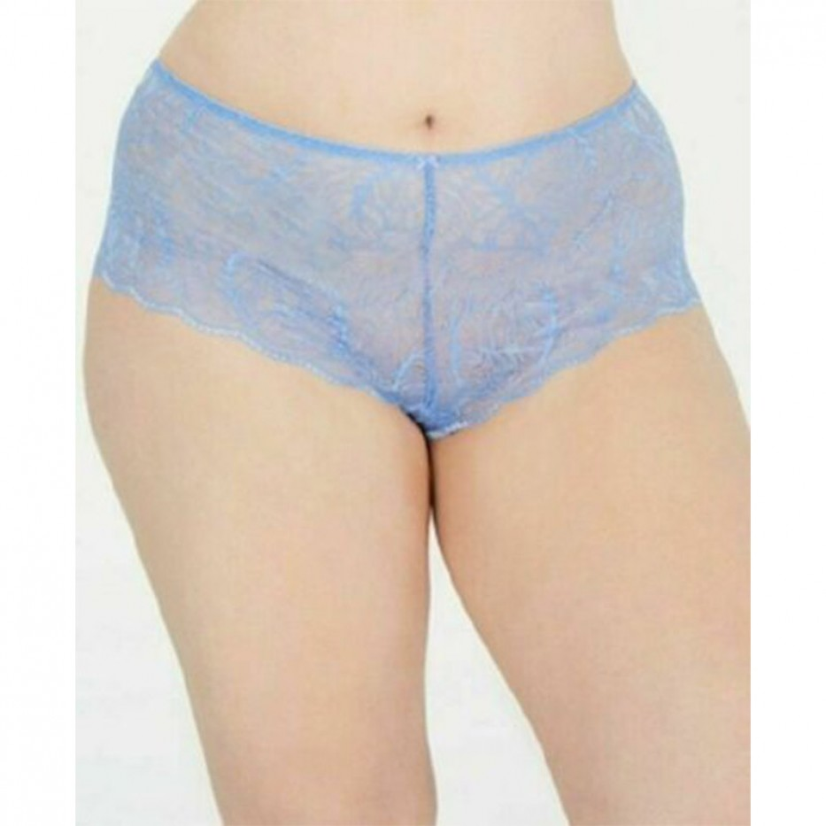 INC Women's Plus Size Lace Boyshort 1X