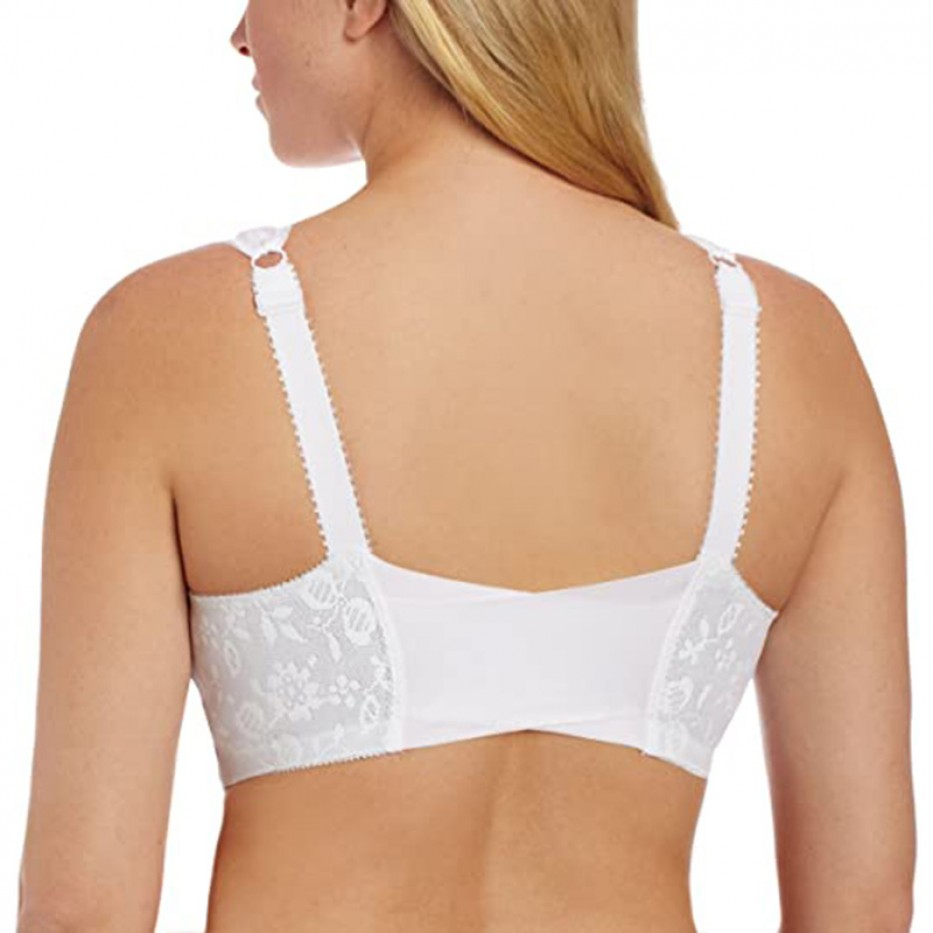 Playtex  Front-Close Bra with Flex Back 46D