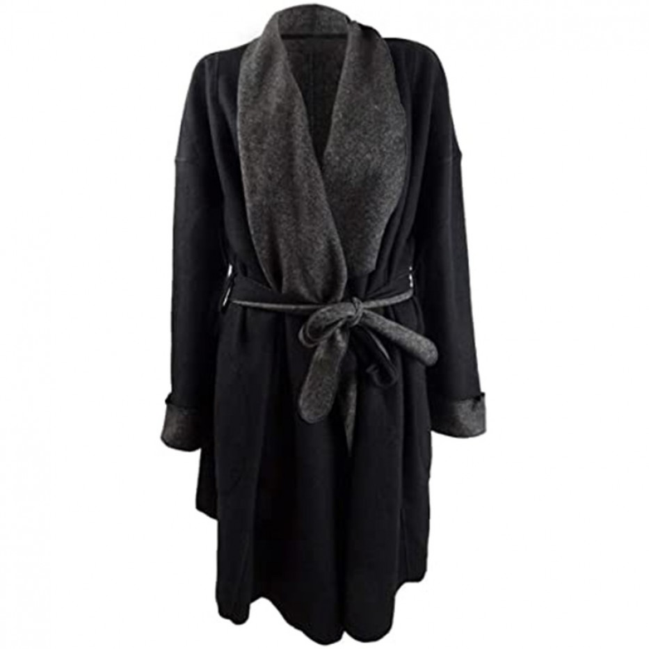 Alfani Women's Super Soft Wrap Robe XL