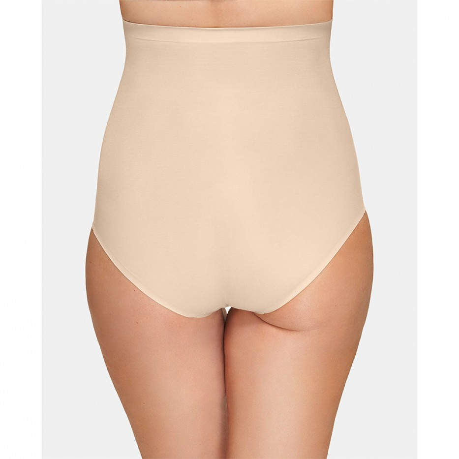 Wacoal Beyond Naked Cotton Shaping High-Waist Brie L